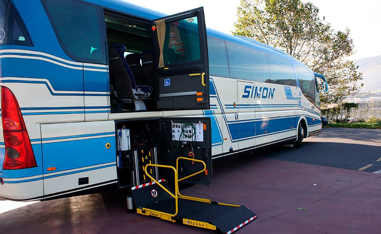 Accesibilidad en Autobuses Simon