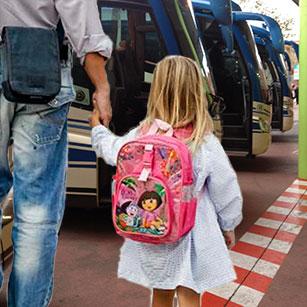 Servicio de Transporte de menores en autobús